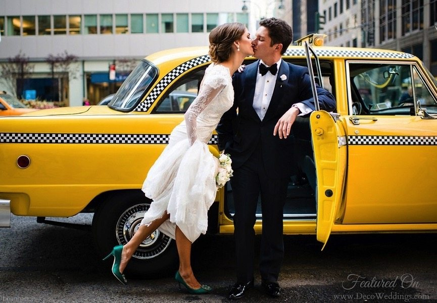 Vintage Style New York City Wedding